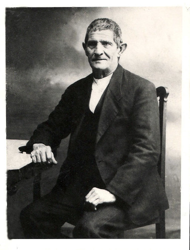 Retrato de Miqueas , bisabuelo materno de Javier Aranda