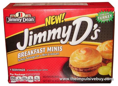 Jimmy Dean Jimmy D's Breakfast Minis
