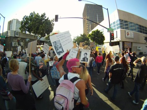 Occupy San Diego march