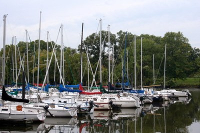 Boats at Daingerfield Island
