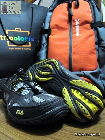 Trael Gears for CebPac Media Backpacker Challenge