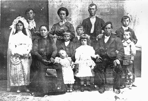 Familia numerosa de 1ª comunion
