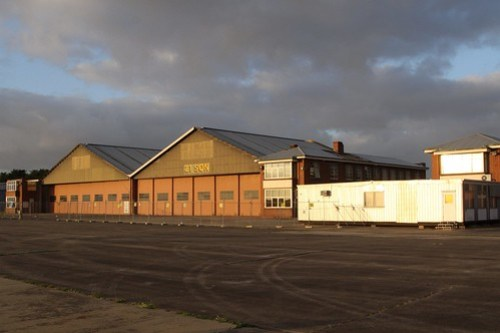 Hangars for 21 Squadron RAAF at the former Laverton airfield
