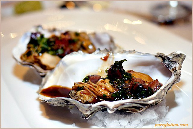 oysters+beef cheeks