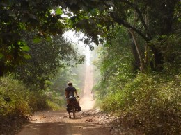 Cycling Through West Africa