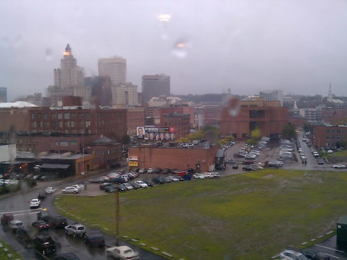 a wet day in providence