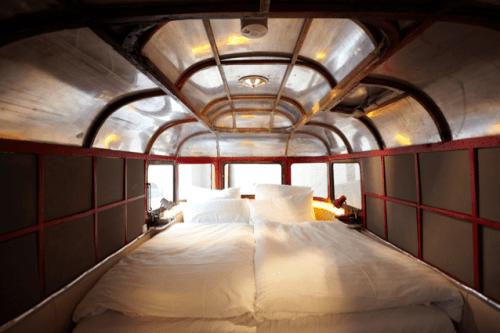 A Caravan Hotel Room at Huettenpalast Berlin
