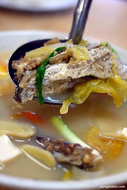 Best steamed haruan fish yap yin seri kembangan for Fish head soup