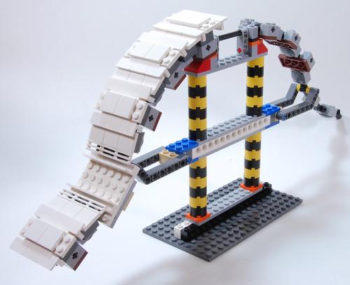 LEGO Catsy Howland Cutaway