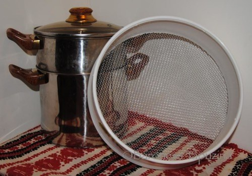 Couscousiere and Sieve
