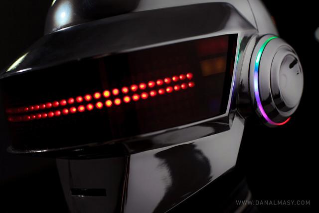 Daft Punk DeLorean Shoot