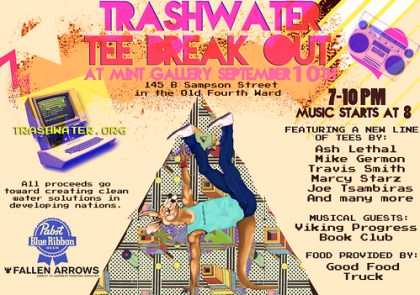 Trashwater Benefit at MINT