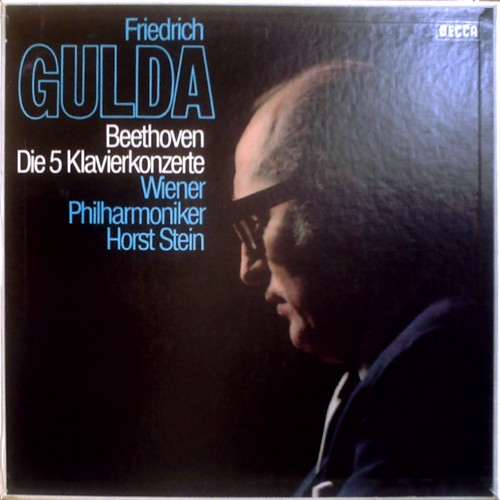 DE DECCA SKB 25060-D/1-4 FRIEDRICH GULDA - BEETHOVEN:Piano Concertos