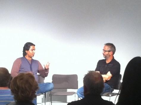 Arvind David and David Baddiel