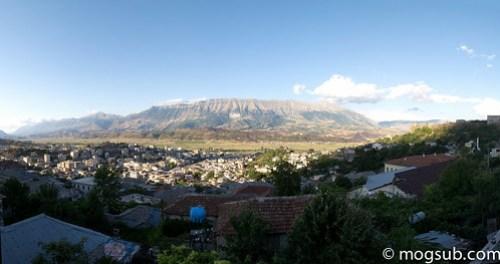 Πανοραμική στο Gjirokaster