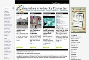Front Page of http://cc.fullcirc.com/