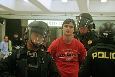 SFSU journalism student arrested