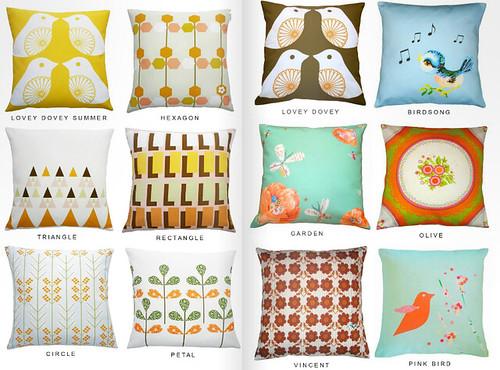 Clare Nicolson Cushions