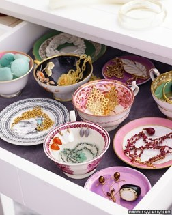 teacup jewelry storage martha stewart