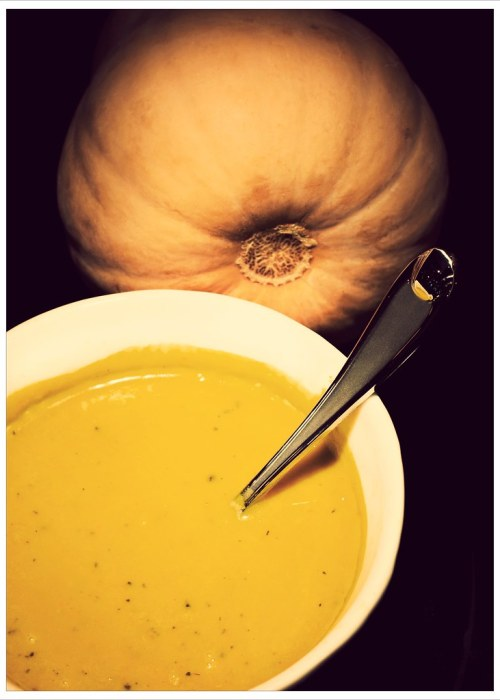 Day 305 - Curried Butternut Squash Soup