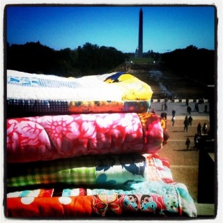 100 Quilts for Kids on the National Mall