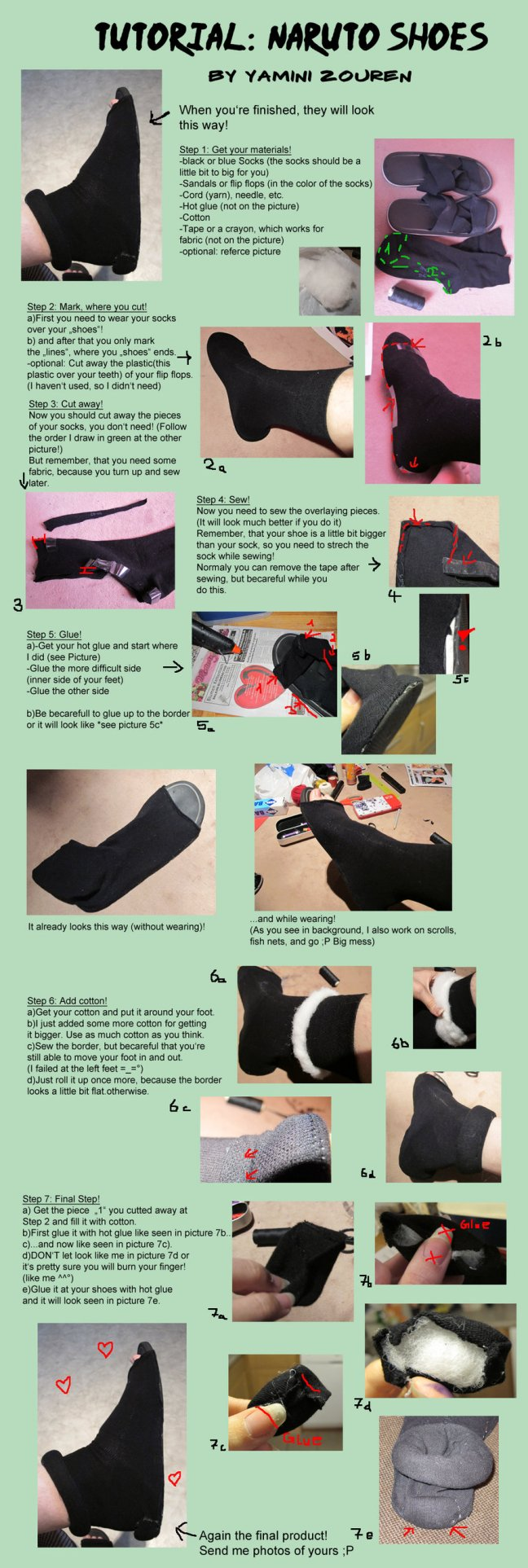 How to Make Naruto Cosplay Shoes