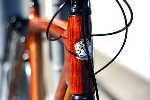 Renovo head tube detail