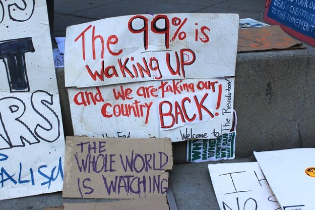 The 99% is waking up