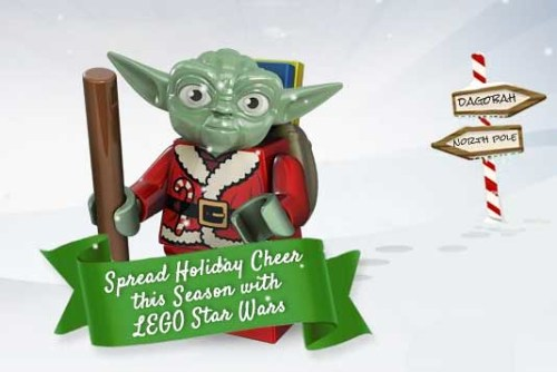 LEGO Santa Yoda