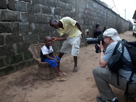 Behind the Scenes – Together Liberia – David Trotman-Wilkins
