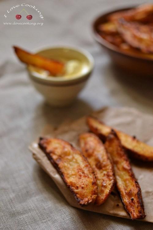 Potato wedges alla paprika