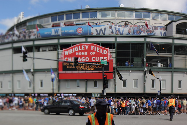 Wrigley Field Ahead of a Seemingless Meaningless Game, September 2011