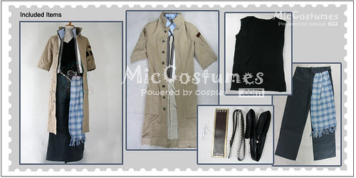Final Fantasy XIII Snow Villiers Cosplay Costume