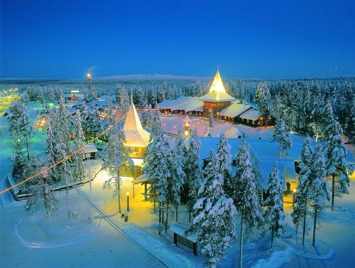 Santa Claus Village at the Arctic Circle