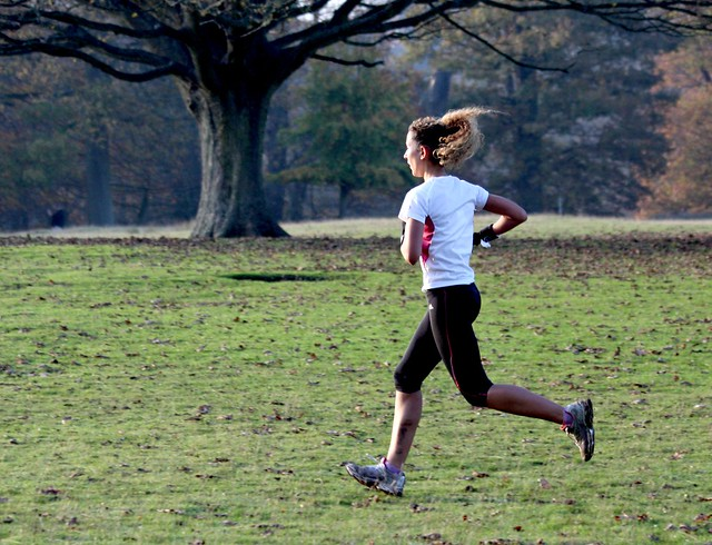 Knole House in Autumn - Nov 2011 - Run Girl Run