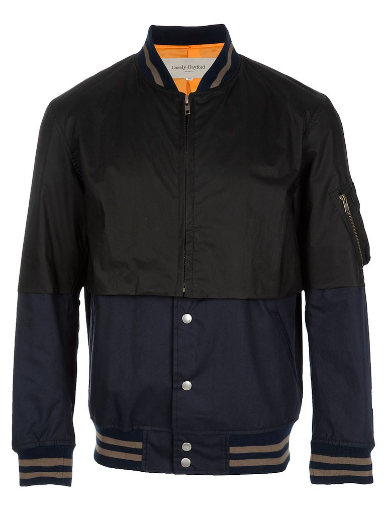 Casely-Hayford - 2 Tier Bomber Jacket