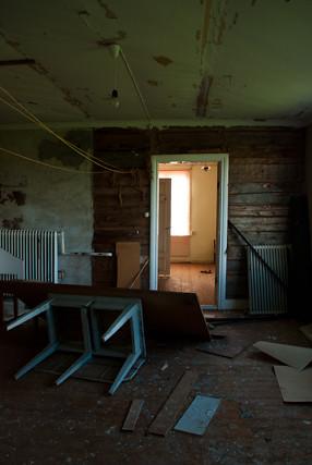 Abandoned house in Hälsingland, Sweden