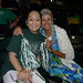 UH Manoa fans Lori Ideta and Jackie Graessle at at UH AUW Softall Tournament 2011 at Les Murakami Stadium on Sept. 30.