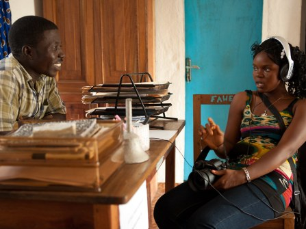 Together Liberia Project  - Rivercess Trip - FAWE - Forum for African Women Education