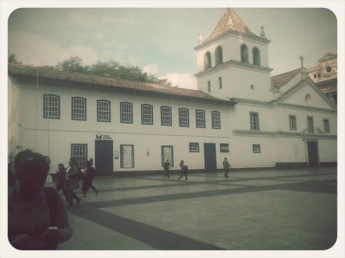Pateo do Colégio - Em 1554 a cidade de São Paulo nasceu aqui.