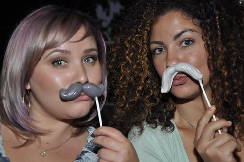 MUSTACHE FAVORS IN ACTION!
