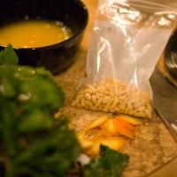 Pollo alla Pancetta, Erbette e Pinoli