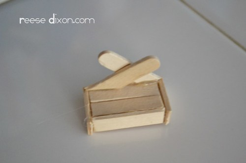 Manger Diorama Tutorial Step 4