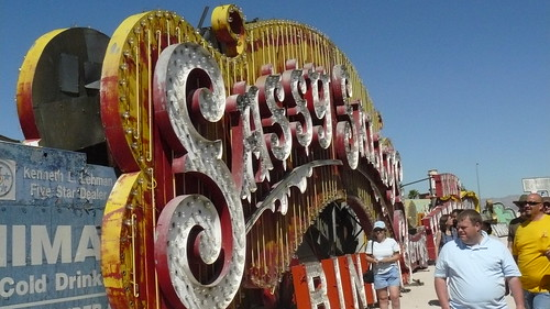 Sassy Sally sign, Neon Boneyard, Las Vegas