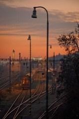 Rails to the Bratislava castle