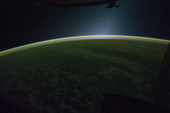 Panorama: Earth's Atmospheric Limb (NASA, Inte...
