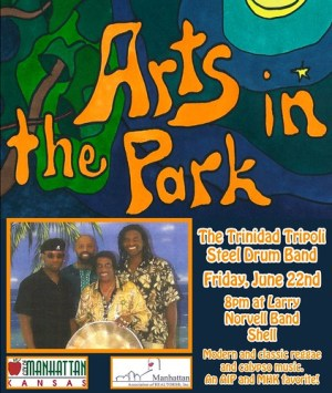 trinidad tripoli steel drum band live music arts in the park
