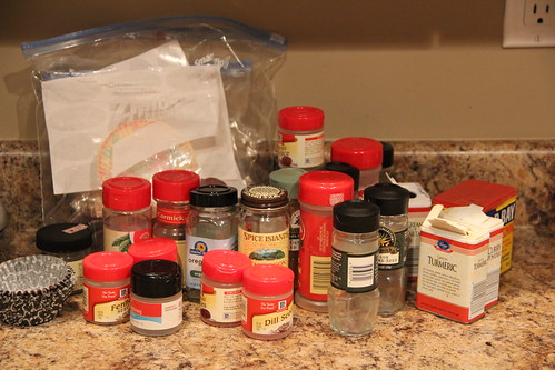Organizing spices, again...