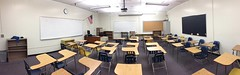 My classroom cleaned out for summer