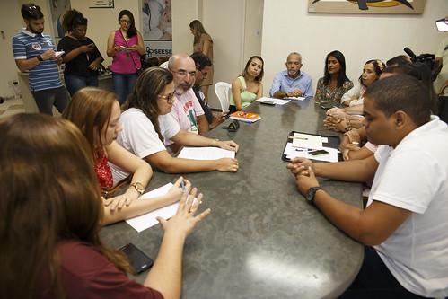 Reunião no Sindicato dos Enfermeiros